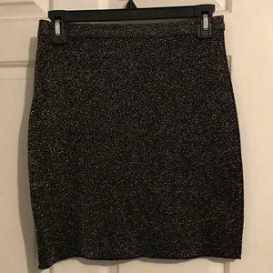 Zara sparkly mini skirt